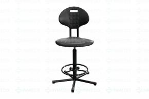 Кресло промышленное, полиуретан с подлокотниками КР 10-2